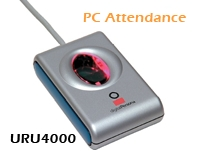 PC Based Attendance with URU4000